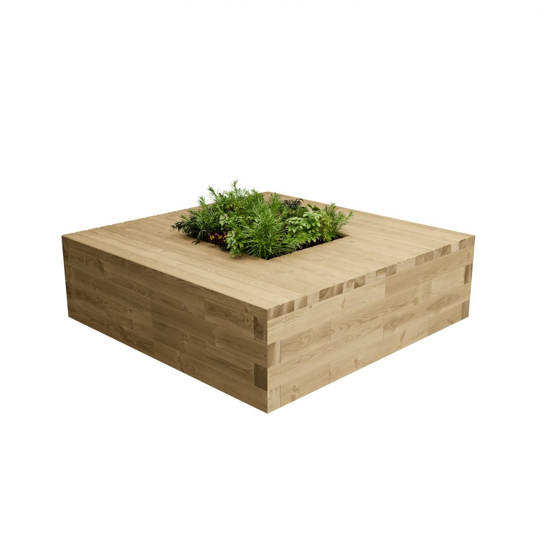 Lomond Planter Bench Image